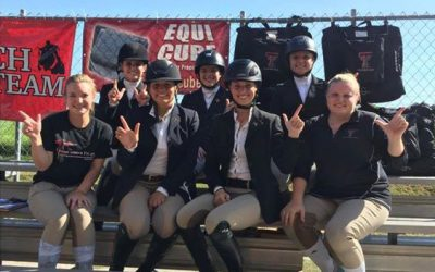 Congratulations Texas Tech Equestrian Team